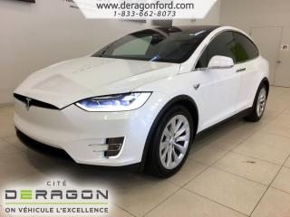 Used 2018 Tesla Model X 75D CLIMAT GLACIAL CHARGEMENT A HAUTE AMPERAGE 75D CLIMAT GLACIAL CHARGEMENT A HAUTE AMPERAGE for sale in Cowansville, QC