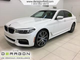 Used 2017 BMW 5 Series 540i Xdrive M Package for sale in Cowansville, QC
