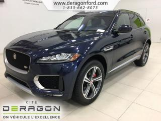 Used 2018 Jaguar F-PACE S 3.0 Awd Roues 20 for sale in Cowansville, QC