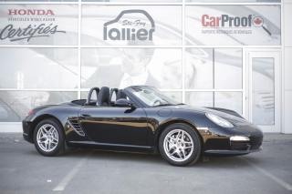 Used 2009 Porsche Boxster Roadster ***JAMAIS ACCIDENTE*** for sale in Québec, QC