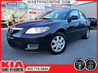 Used 2008 Mazda MAZDA3 ** EN ATTENTE D'APPROBATION ** for sale in St-Hyacinthe, QC