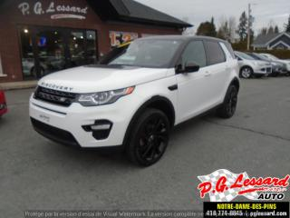 Used 2016 Land Rover Discovery Sport HSE for sale in St-Prosper, QC