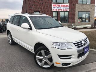 Used 2010 Volkswagen Touareg AWD Diesel for sale in Rexdale, ON