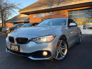 Used 2015 BMW 4 Series 428i xDrive AWD Gran Coupe  Heated Seats Cert* for sale in Concord, ON