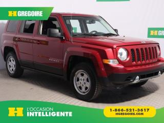 Used 2016 Jeep Patriot NORTH 4X4 A/C for sale in St-Léonard, QC