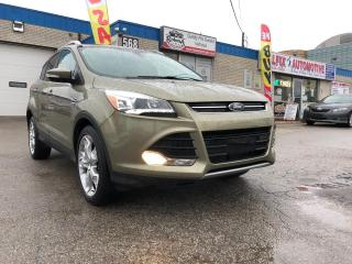 Used 2013 Ford Escape Titanium/PANO ROOF/NAVI/REAR CAM/BLUETOOTH for sale in Oakville, ON