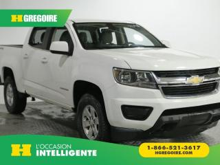 Used 2016 Chevrolet Colorado AWD CREW CAB A/C for sale in St-Léonard, QC