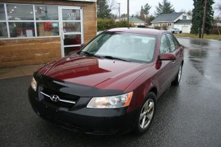 Used 2007 Hyundai Sonata GL w/ABS/XM for sale in Nepean, ON