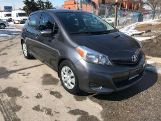 Used 2014 Toyota Yaris LE,AUTO,1 OWNER,97K,SAFETY+3YRS WARRANTY INCLUD for sale in Toronto, ON