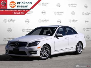 Used 2014 Mercedes-Benz C-Class C 300: AWD 4MATIC LOW KMS LEATHER NAVIGATION for sale in Edmonton, AB
