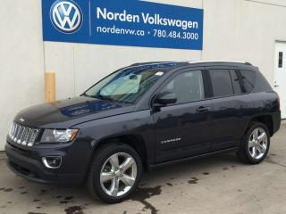 Used 2015 Jeep Compass HIGH ALTITUDE 4WD - LEATHER / SUNROOF / STARTER for sale in Edmonton, AB