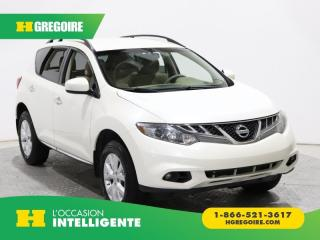 Used 2013 Nissan Murano S AWD A/C GR ELECT for sale in St-Léonard, QC