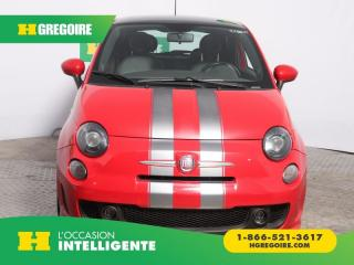 Used 2013 Fiat 500 TURBO A/C CUIR TOIT for sale in St-Léonard, QC