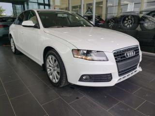 Used 2012 Audi A4 PREMIUM, HEATED SEATS, SUNROOF, ACCIDENT FREE for sale in Edmonton, AB