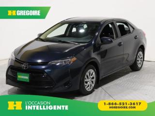 Used 2018 Toyota Corolla LE A/C GR ELECT for sale in St-Léonard, QC