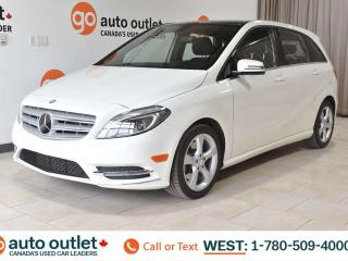 Used 2014 Mercedes-Benz B-Class HEATED SEATS, NAVIGATION, BACKUP CAMERA, HANDSFREE/BLUETOOTH, for sale in Edmonton, AB