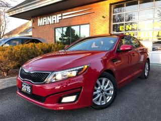 Used 2015 Kia Optima EX Sunroof Heated Seats Rear Cam Leather Certi* for sale in Concord, ON