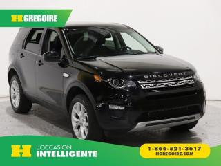 Used 2016 Land Rover Discovery Sport HSE AWD CUIR TOIT for sale in St-Léonard, QC