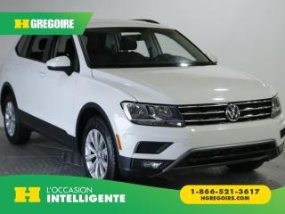 Used 2018 Volkswagen Tiguan Trendline 4 motion for sale in St-Léonard, QC
