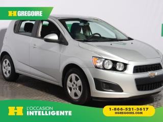 Used 2015 Chevrolet Sonic HATCH LS A/C for sale in St-Léonard, QC