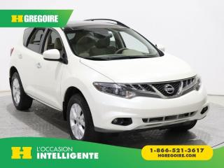 Used 2014 Nissan Murano SL AWD A/C GR ELECT for sale in St-Léonard, QC
