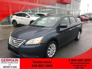 Used 2015 Nissan Sentra S - Cruise for sale in Donnacona, QC