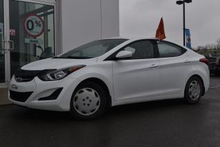 Used 2015 Hyundai Elantra GL BLUETOOTH A/C GR for sale in St-Jérôme, QC