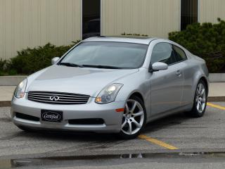 Used 2004 Infiniti G35 LOW KMS, LEATHER, BOSE AUDIO, HEATED SEATS,SUNROOF for sale in Mississauga, ON