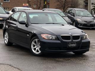 Used 2007 BMW 3 Series NO-ACCIDENTS, HEATED SEATS, SUNROOF, ALLOYS,LOADED for sale in Mississauga, ON