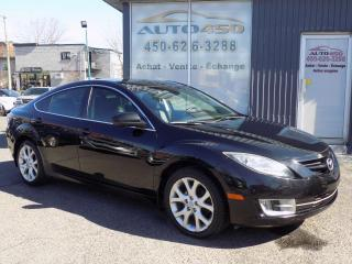 Used 2010 Mazda MAZDA6 ***GT,AUTOMATIQUE,CUIR,TOIT,AIR CLIM*** for sale in Longueuil, QC