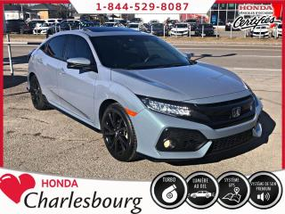 Used 2018 Honda Civic SPORT TOURING **HATCHBACK**12 443 KM** for sale in Charlesbourg, QC