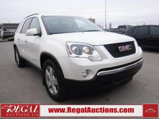 Used 2007 GMC Acadia SLT 4D Utility AWD for sale in Calgary, AB