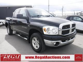 Used 2007 Dodge Ram 1500 4D Quad CAB 4WD for sale in Calgary, AB
