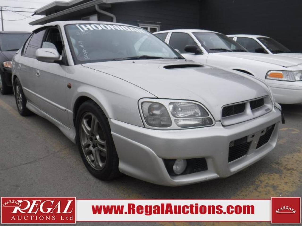 Photo of Silver 2000 Subaru Legacy