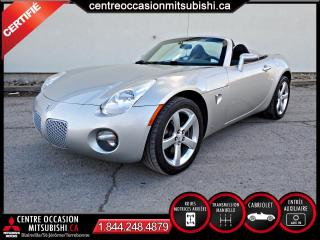 Used 2006 Pontiac Solstice SEULEMENT 88148 KM for sale in Blainville, QC