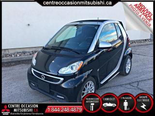 Used 2013 Smart fortwo PASSION CONVERTIBLE for sale in Blainville, QC