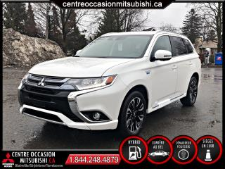 Used 2018 Mitsubishi Outlander PHEV OUTLANDER GT HYBRIDE BRANCHABLE TOU for sale in Blainville, QC