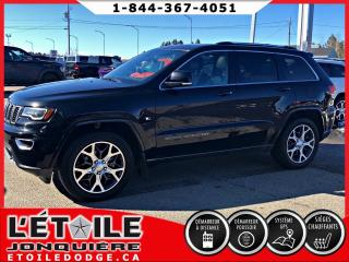 Used 2018 Jeep Grand Cherokee Édition Sterling 4x4 TOIT PANORAMIQUE for sale in Jonquière, QC
