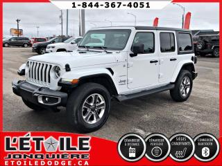 Used 2018 Jeep Wrangler Sahara 4x4 GPS for sale in Jonquière, QC