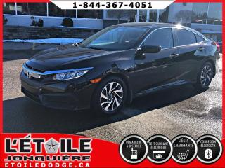Used 2016 Honda Civic EX 4 portes SIEGES CHAUFFANTS for sale in Jonquière, QC