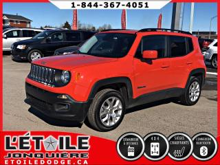 Used 2016 Jeep Renegade 4x4 North CAMERA DE RECUL for sale in Jonquière, QC