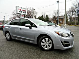 Used 2015 Subaru Impreza 2.0i Pzev TOURISME AWD -- BLUETOOTH - M for sale in Repentigny, QC