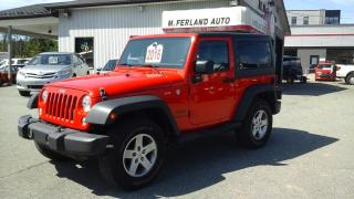 Used 2016 Jeep Wrangler 4 RM 2 portes Sport 2 TOIT for sale in Sherbrooke, QC