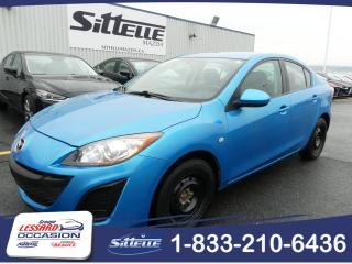 Used 2010 Mazda MAZDA3 GX,  AUTOMATIQUE for sale in St-Georges, QC