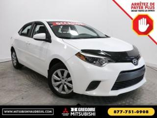 Used 2015 Toyota Corolla LE for sale in Vaudreuil-Dorion, QC