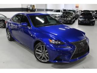 Used 2016 Lexus IS 350 F SPORT   1-OWNER for sale in Vaughan, ON