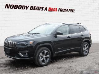 New 2019 Jeep Cherokee Limited 4X4 for sale in Mississauga, ON