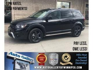 Used 2018 Dodge Journey Crossroad *AWD/Lthr/Roof/Navi/DVD for sale in Winnipeg, MB