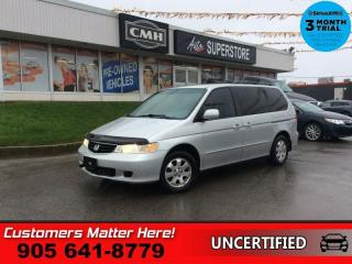 Used 2004 Honda Odyssey EX-L  LEATHER PWR-SLIDING-DOORS (AS TRADED - NOISY MOTOR) for sale in St. Catharines, ON