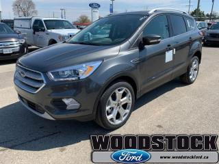 New 2019 Ford Escape Titanium 4WD  - Leather Seats for sale in Woodstock, ON